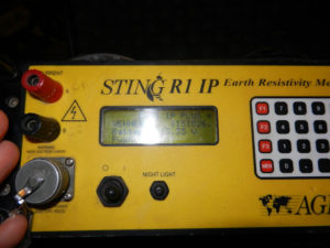 Electrical Resistivity Meter AGI Sting R1 IP
